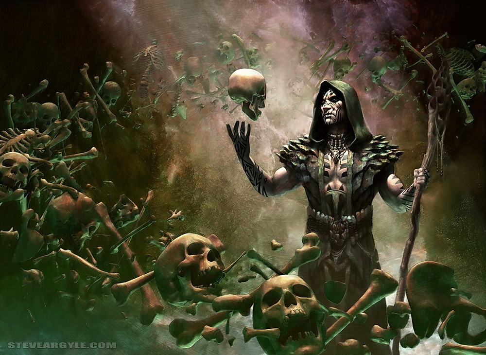 """""""Deathrite Shaman"""" by Steve Argyle - (or ij this case, the devil that went down to Georgia)"""