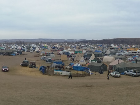 Vignettes From Standing Rock #1: Pipe Ceremony