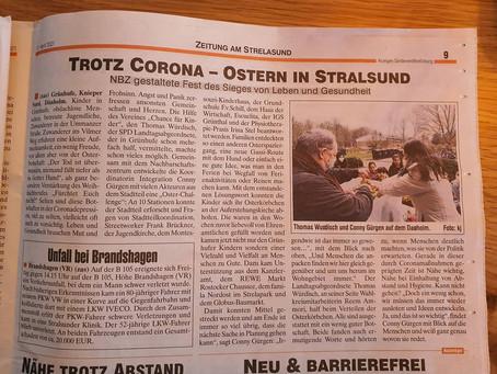 Trotz Corona - Ostern in Stralsund