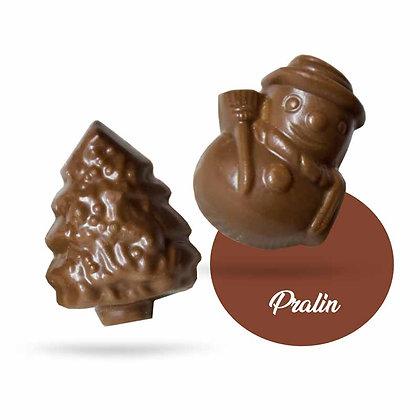 FRITURES NOEL-Chocolat au Lait-Fourrés-Sachet Vrac 500 gr
