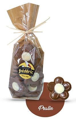FLEURS-Chocolat au Lait-Fourrées-Sachet confiseur 200g