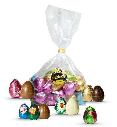 OEUFS Fourrés - Chocolats au choix - Sachet Vrac 500 Gr