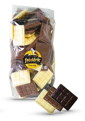 MINI TABLETTES-3 Chocolats-Plein