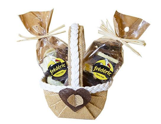 PANIER GOURMAND-400g- 3 Chocolats