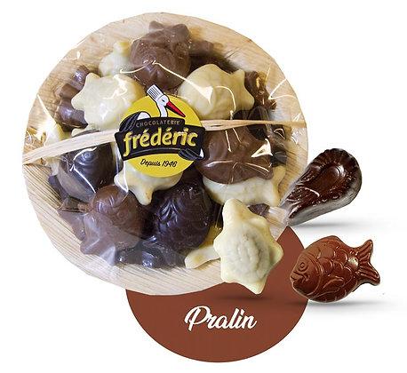 COUPELLE FRITURES-3 Chocolats-Fourrés-200 gr