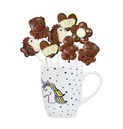 MUG Mix SUCETTES-Chocolat au Lait