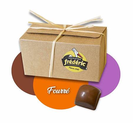 CUBES-Chocolat au Lait-Fourrés-Ballotin