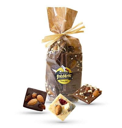 CROQUANTS-Chocolats au choix-Sachet Confiseur 200 Gr