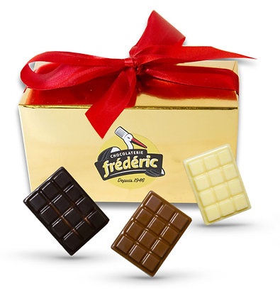MINI TABLETTES-3 Chocolats pleins