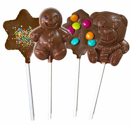 MIX SUCETTES-Chocolat au Lait-Sachet Confiseur 200 gr