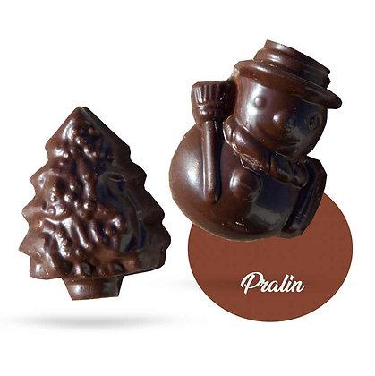 FRITURES NOEL-Chocolat Noir-Fourrés-Sachet Vrac 500g