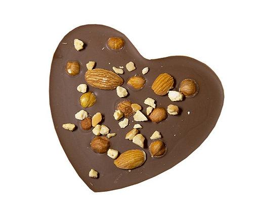 TABLETTE COEUR Croquant-Chocolat au Lait