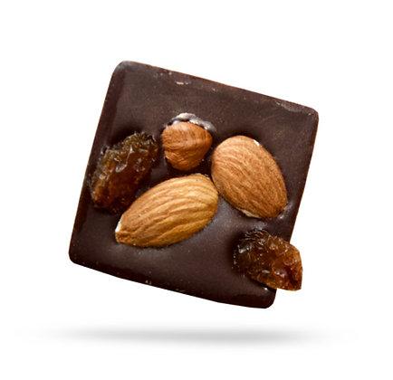 CARRES CROQUANTS-Chocolat Noir-Sachet Vrac 500gr