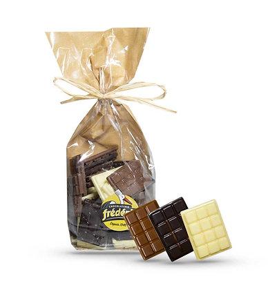 MINI TABLETTES - Chocolats au choix - Sachet Confiseur 200 Gr