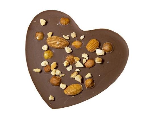 TABLETTE COEUR Croquant-Chocolat au Lait-60 gr