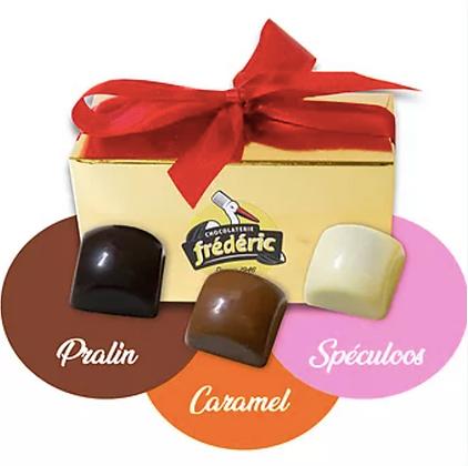 CUBES Fourrés - Chocolats au choix - Ballotin 250 Gr (375 Gr/500 Gr)