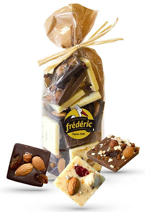 CROQUANTS-3 Chocolats-Sachet confiseur 200g