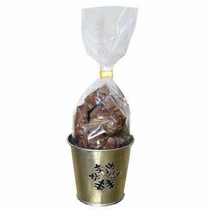 PHOTOPHORE FRITURES-Chocolat au Lait-Fourré Pralin-120 gr