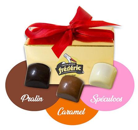 CUBES-3 Chocolats-Mix Fourrages-Ballotin