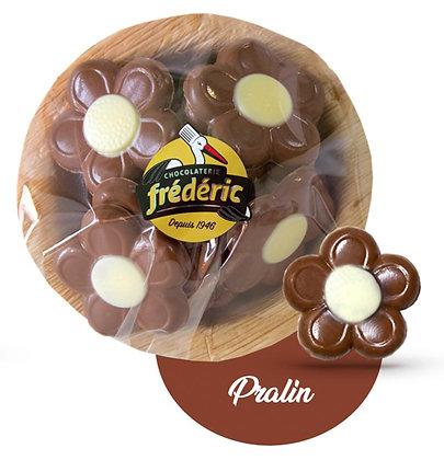 COUPELLE FLEURS-Chocolat au lait-Fourré