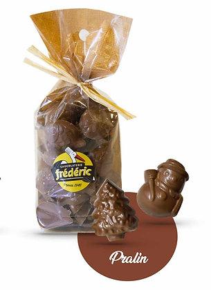 FRITURES NOEL-Chocolat au Lait-Fourrés-Sachet Confiseur 200 gr