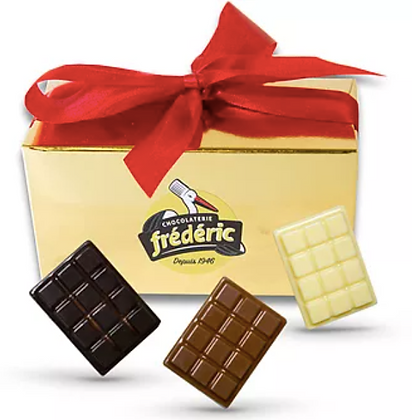 MINI TABLETTES - Chocolats au choix - Ballotin 250 Gr (375 Gr/500 Gr)