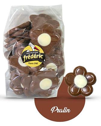 FLEURS-Chocolat au Lait-Fourré-Sachet Vrac 500 gr