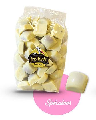 CUBES-Chocolat Blanc-Fourrés