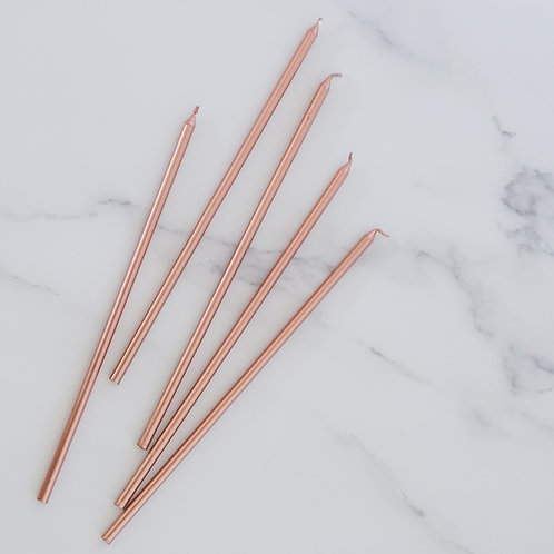 Birthday Candles (tall) - Set of 5