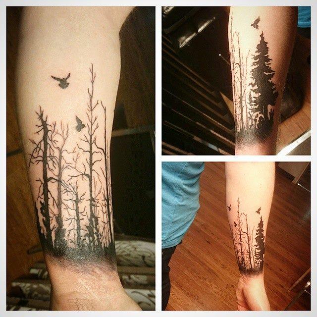 Andrew's tattoo