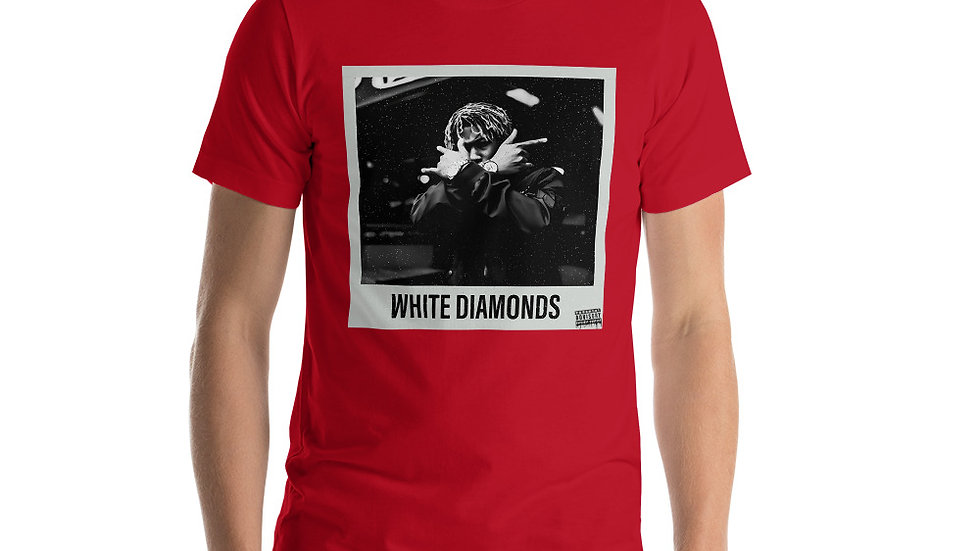 (WHITE DIAMONDS) Short-Sleeve Unisex T-Shirt