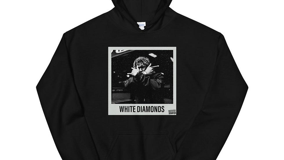 (White Diamonds) Unisex Hoodie