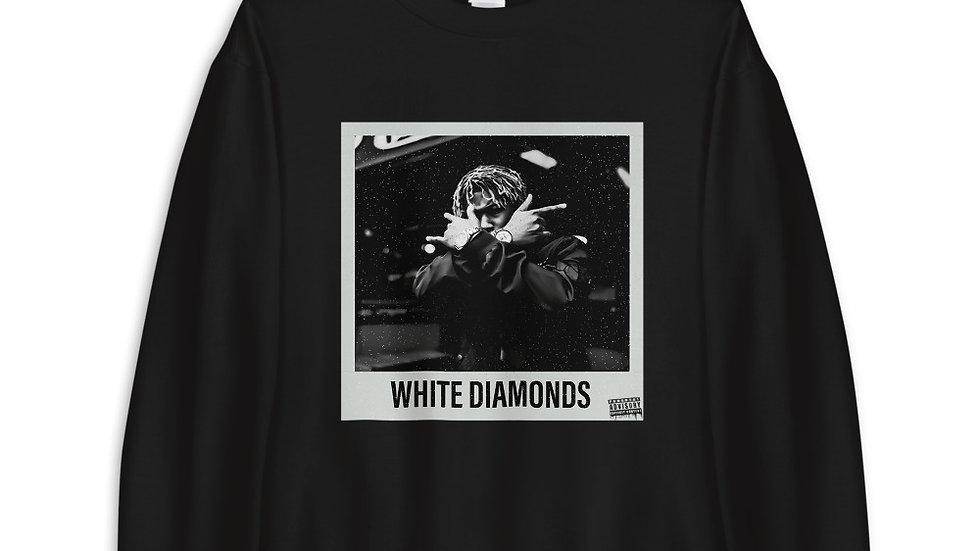 (WHITE DIAMONDS) Unisex Sweatshirt