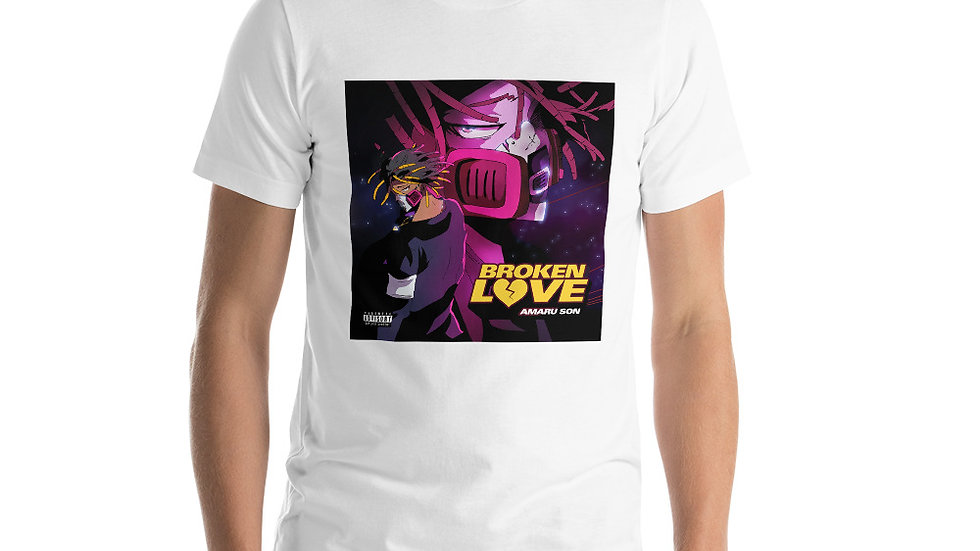 (BROKEN LOVE) Short-Sleeve Unisex T-Shirt