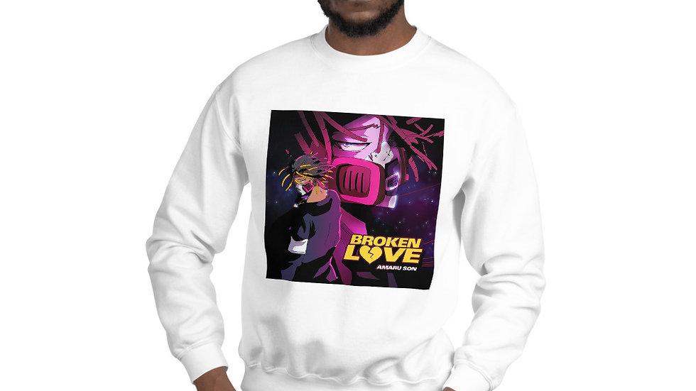 (BROKEN LOVE) Unisex Sweatshirt