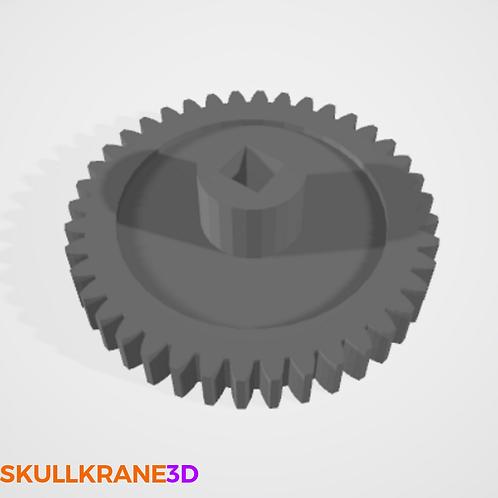 Square-Shaft Head Turn Gear