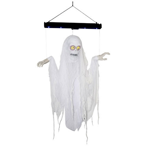 Animated 3ft Life-Size Floating Ghost (Ghoul)