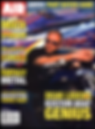 Dean Loucks on cover of Air Brush Action Magazine