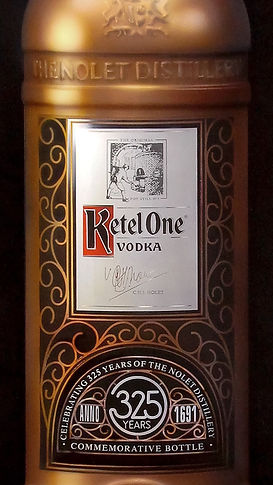 Ketel One painting by Dean Loucks
