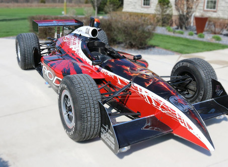 Stunning Street-Legal Indycar Is The Ruler Of The Roads