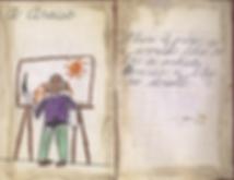 Dean Loucks as a child artist