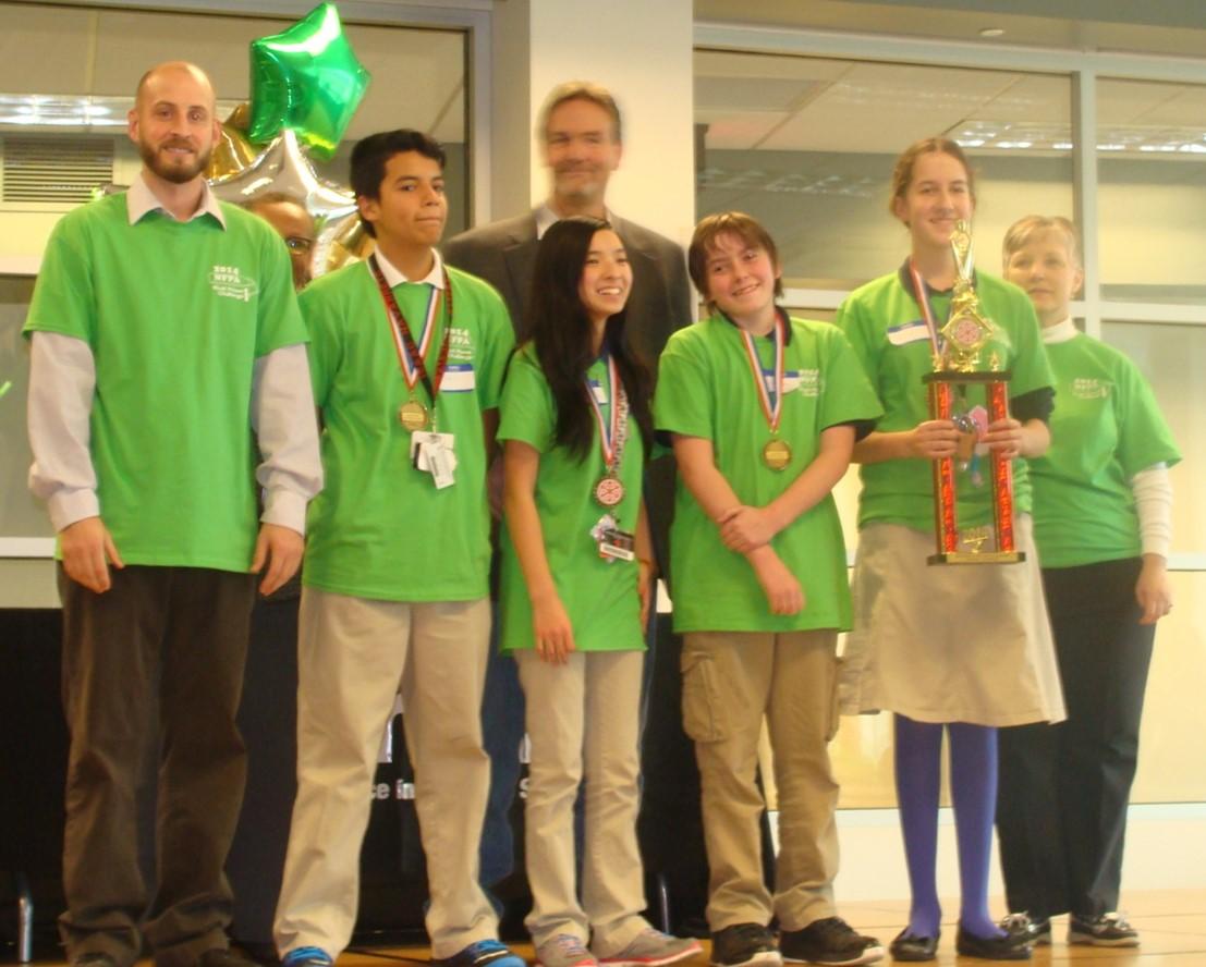 Overall Champion: Team 16  LaSalle A