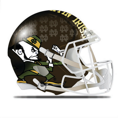 Brown Leprechaun Helmet