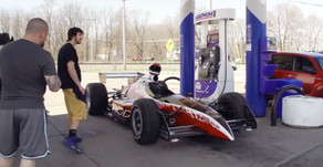 Video: Artist Creates Street Legal Indy Car As His Next Work Of Art