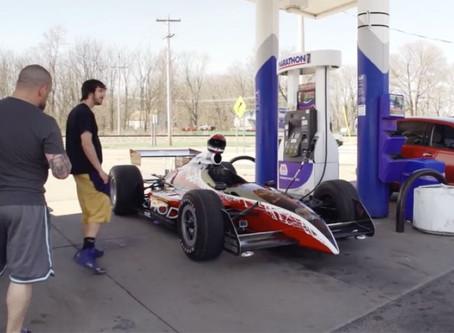 Video: Artist Creates Street Legal Indy Car As His Next Work Of Art