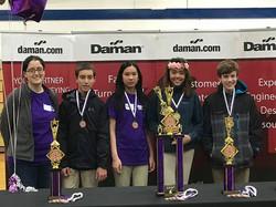 Teamwork Winners - Jackson Team 11