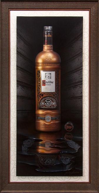 Ketel One Vodka painting by Dean Loucks