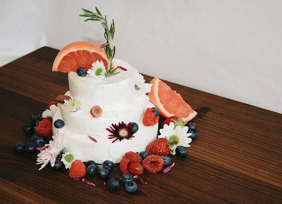 Say Brieese! Celebratory Cake