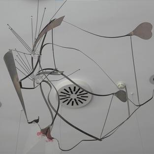 Lampada 1994  Rame e vetro