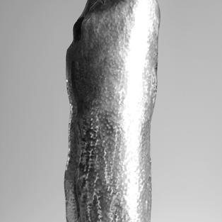Senza titolo 2009  Acciaio battuto e tondini di acciaio cm 200 x 67 x 55